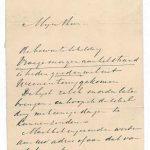 Een brief van H.W. Mesdag naar aanleiding van een expositie met schilderijen bij Mak.